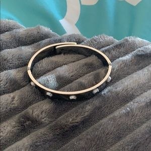 Michels Kors silver studded bracelet